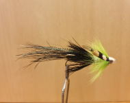 Pot Belly Pig Chartreuse and Black Conehead 15mm